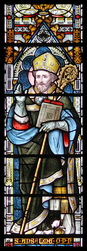 saint anselm of canterbury and the existence of god Anselm: ontological argument for god's existence one of the most fascinating arguments for the existence of an all-perfect god is the ontological argument while there are several different versions of the argument, all purport to show that it is self-contradictory to deny that there exists a greatest possible being.