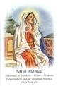 FMA St. Monica prayer card H169d