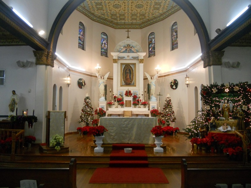 Our Lady Of Guadalupe Church Brownsville Tx