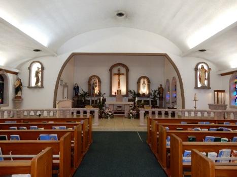 main altar in church