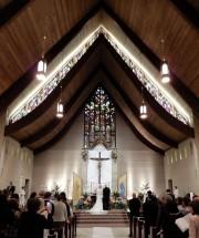 Wedding altar: St. Mary's Visitation - Elm Grove, WI