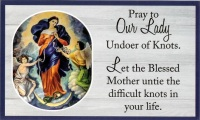 """St. Jude Shrine prayer card: """"Our Lady"""" - Baltimore, MD"""